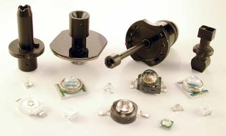 Count On Tools' LED nozzle series is available for all types of SMT pick-and-place equipment and tooling.