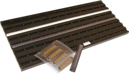 The new StripFeeder Trays are a cost-effective way to load many components in the machine without purchasing expensive feeders.