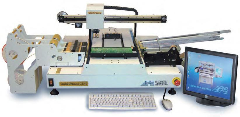 CS40 Benchtop Automated Pick and Place Machine