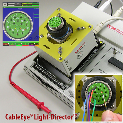 Light Director™ Guided Assembly System: A CableEye® Accessory