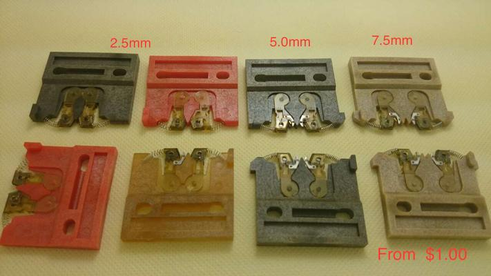 Universal Instruments Carrier clip 2.5mm; 2.5/5.0mm;