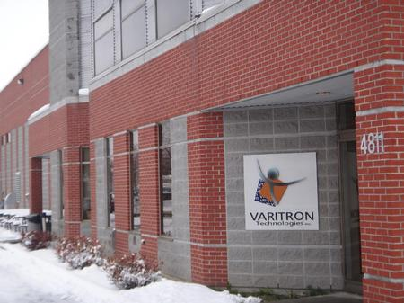 Group Varitron Technologies headqueters in St-Hubert, Quebec, Canada