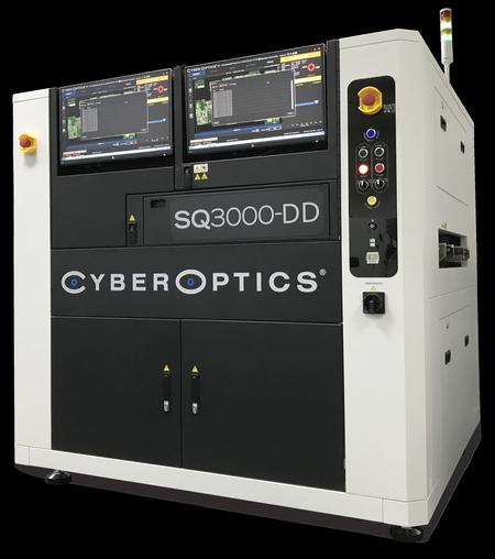 SQ3000-DD 3D Automated Optical Inspection (AOI) system.