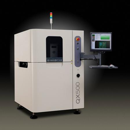 The SE500™ 100 percent 3-D solder paste inspection system has the ability to inspect the most demanding assemblies with a >80 cm2/second inspection speed without compromising measurement accuracy and repeatability.