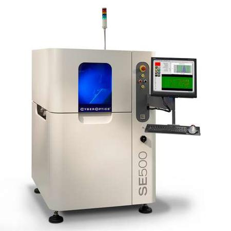 SE500™ 100 percent 3-D solder paste inspection system.