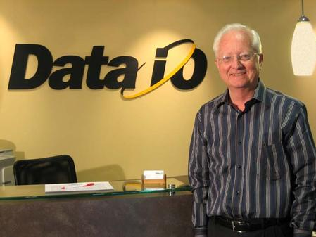 Fred Hume, President and CEO of Data I/O Corporation