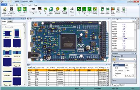 The new Digitizer 2.0 helps to recover CAD. With the help of the Digitizer the board/CAD data is re-created and all the connectivity is learnt.