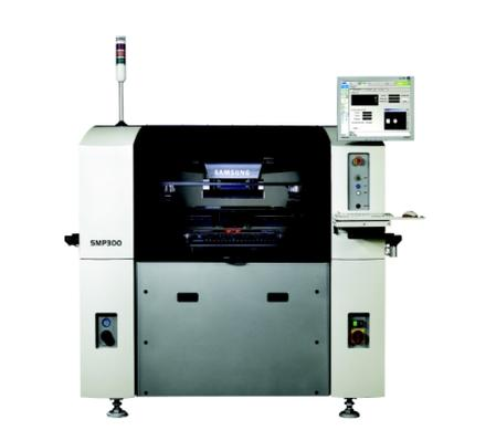 Samsung SMP300 Screen Printer combines automatic and economical printing with a suite of standard features and options to fit a wide variety of production needs.
