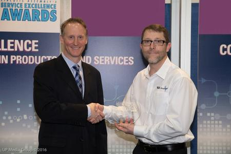 ECD was honored with one of the electronics assembly industry's most prestigious awards, the Service Excellence Award.