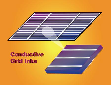New Conductive Grid/Busbar Inks