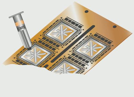 Fast Cure Conductive Adhesive for Small to Medium Size Chip Bonding.