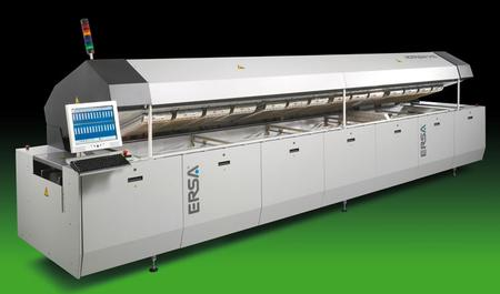 ERSA HOTFLOW 3 – Energy-efficient and cost-effective reflow soldering system with leading thermal performance for maximum quality and highest availability at minimum operating cost.