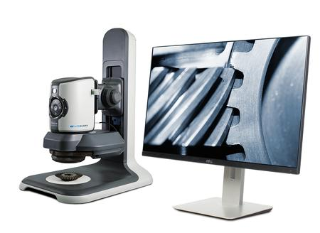 EVO Cam digital microscope with 360° rotating viewer
