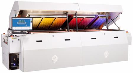 Utilizing patented IsoThermal™ chamber technology, Electrovert's OmniES+™ series with full convection reflow offers board assembly producers the optimum balance between thermal process capability and equipment.