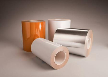 Polyonics single coated, linered tapes are offered in three materials; polyimide, polyester and aluminum. Each material comes in a variety of configurations to provide the necessary level of thermal protection for a wide variety of applications. Electrostatic dissipative (ESD) and halogen-free flame retardant tapes are also available.