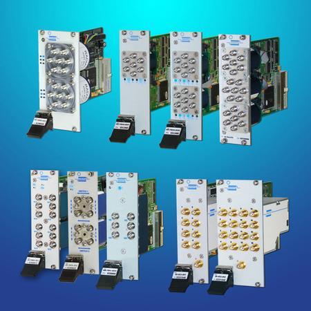 Pickering's RF & Microwave Switching solutions range from low-level DC signals to RF and Microwave.