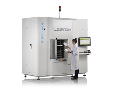 The Lzero3 intelligent storage cabinet from Blakell Europlacer.