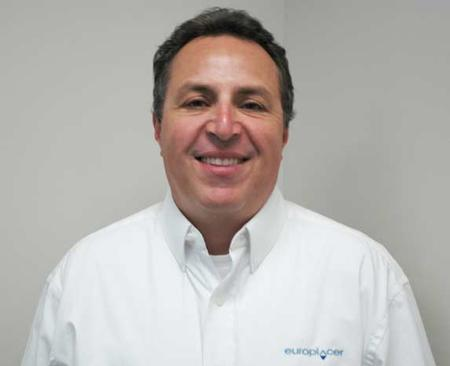 Ed Conson, Europlacer's new Customer Service Manager.