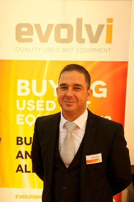 Chris Herd, General Manager of EvolviSMT Ltd.