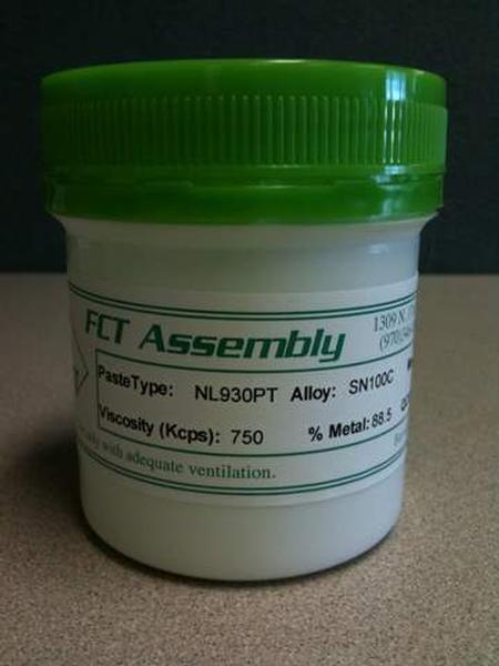 NL930PT Pin Probable Solder Paste