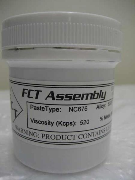 NC676 No-Clean Leaded Solder Paste