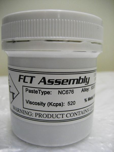 NC676 No-Clean Solder Paste