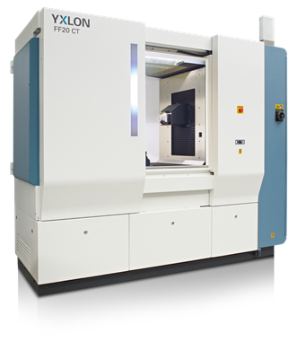 YXLON FF20 CT High Resolution Industrial CT System for Small Parts Inspection