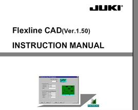 JUKI Flexline CAD 4.0 software