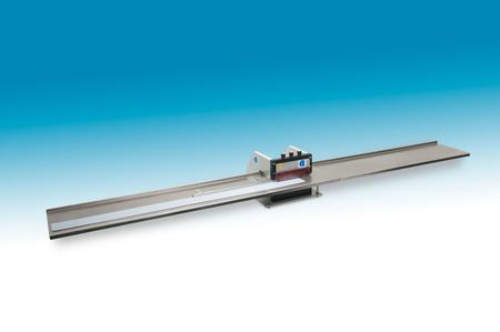 CL-100, which can handle single-sided, metalized, or FR-4 panels of any length.