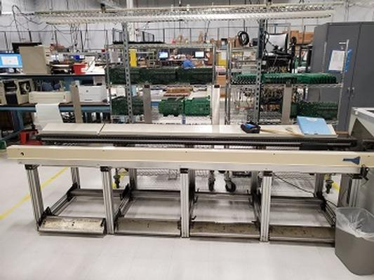 Simplimatic Automation Stuffing Line / Slide Line for Pre-Wave Board Population