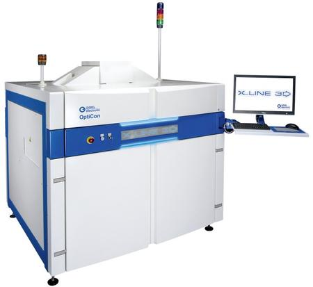 OptiCon X-Line 3-D In-Line X-ray Inspection System