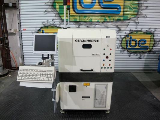 GSI Lumonics SVS 8200 Paste Inspection System
