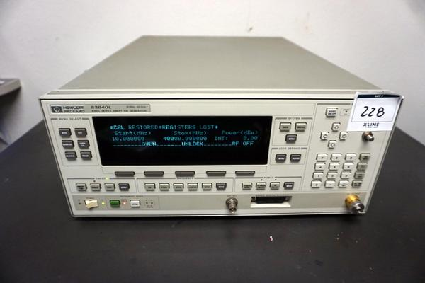 Agilent HP 83640L 40Ghz Synthesized Sw