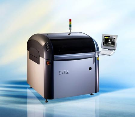 Horizon 03iX screen printing platform.