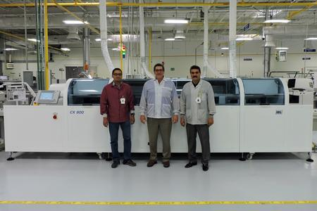 Firstronic LLC (www.firstronic.com), headquartered in Grand Rapids, MI, has installed its third CX Model Inline Vapor Phase Reflow system.