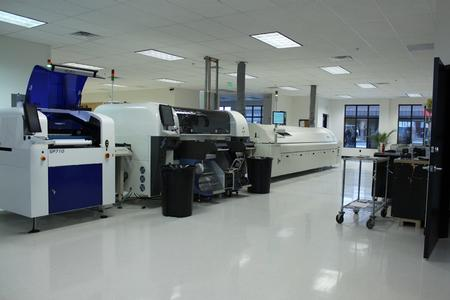 4TechUSA.com Sample Contract Manufacturing SMT line