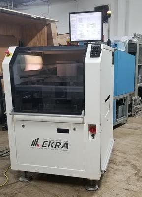 Ekra E4 Solder Paste Screen Printer