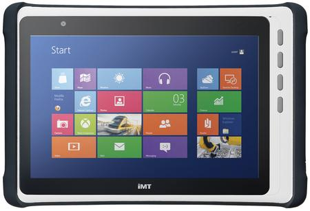 The IMT-BT is a truly industrial mobile tablet, integrating the dual-core Intel® Celeron® processor N2807 for high performance tablet computing power.