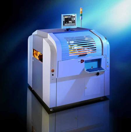 Icon's award-winning i8 Fully Automatic Screen Printer.