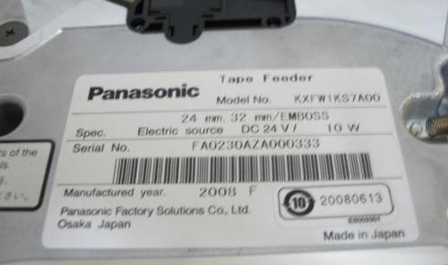 Panasonic  SMT feeder,with sensor,