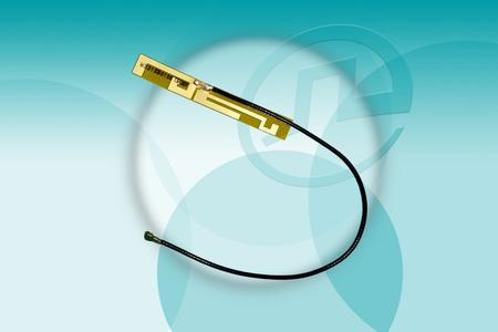 Internal dual-band flexible printed circuit (FPC) antenna.