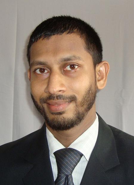 Liyakathali Koorithodi, Indium Corporation's Assistant Technical Manager.