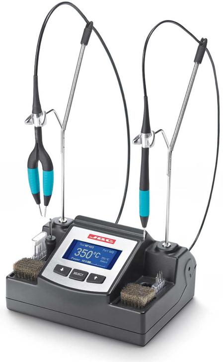 The NANO station is a complete station designed for micro soldering and desoldering of small-size components like chips 0201, 0402 etc.