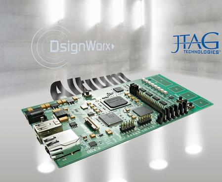 The JT 2156 training board from JTAG Technologies has been designed to demonstrate all the latest features and test techniques available to users of the company's ProVision & JTAGLive application development systems.