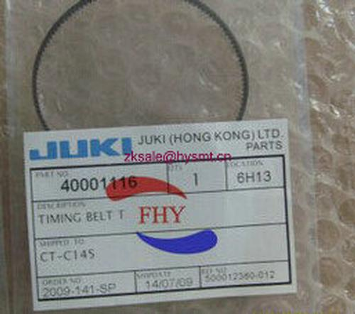 high quality JUKI 2050 2060 belt  T40001116 for smt machine