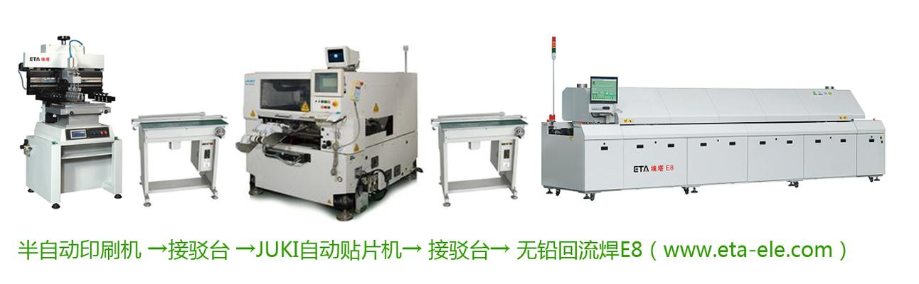 Semi-Automatic SMT Production Lines
