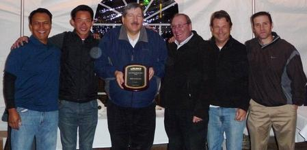 From left to right: Carlos Eijansantos, Jack Wong (GKG), Bob Black, Arnie Greenberg, Chris Putney and Jeremy Greenberg