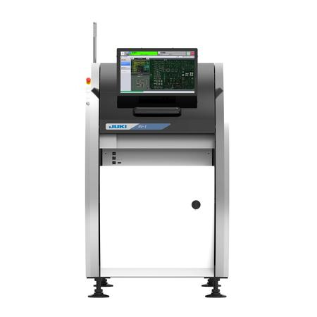 RV-1 PWB inspection machine significantly improves inspection accuracy and speed with both automatic optical inspection (AOI) and solder paste inspection (SPI) functions.