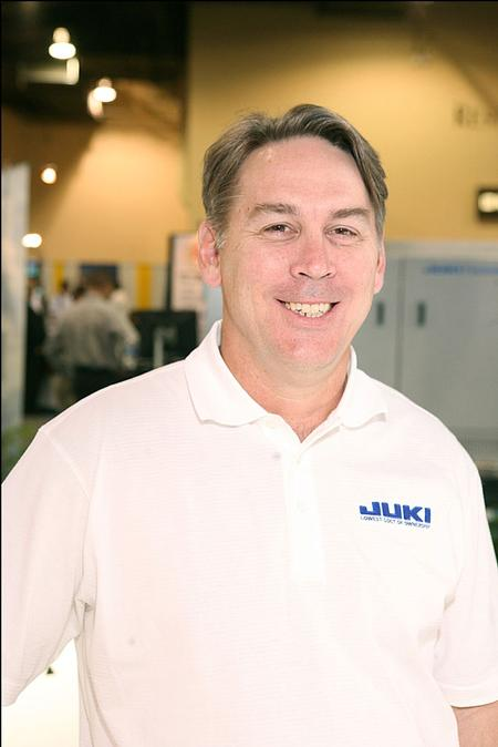 Geron Ryden, Juki Automation Systems' Director of Marketing