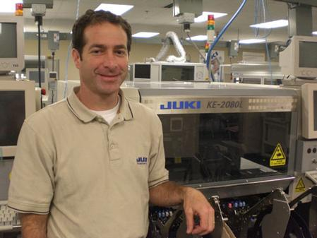 Gerry Padnos, Director of Technology.